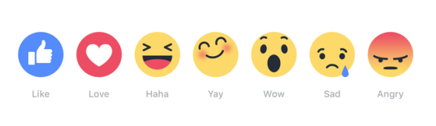 facebook reactions blog best74 emoji