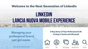 linkedi lancia nuova mobile experience