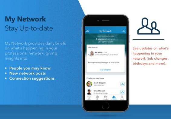 linkedin lancia nuova mobile experience