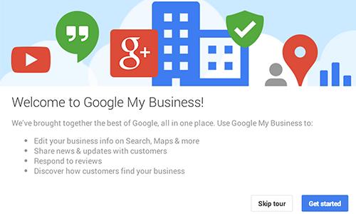 posizionamento locale google